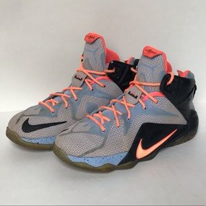 Nike LeBron James Xll GS Basketball Athletic Shoes